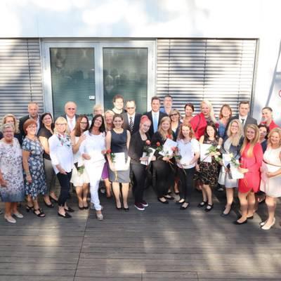 Pflegehelden von morgen - Ausbildung geschafft! Abschlussfeier der Gesundheits- und Krankenpflegeschule am Universitätsklinikum Tulln