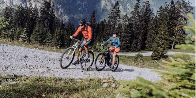 Naturbiken Allgäu/Tirol: Unterwegs in zwei Regionen